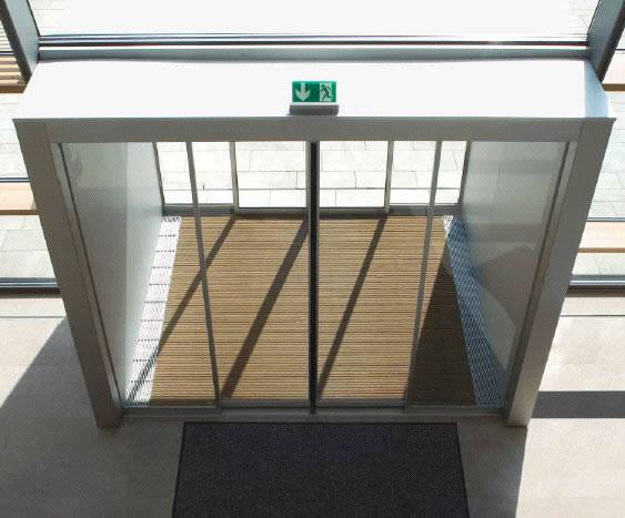 Klizlu Compsec Nigeria Limited Automatic Glass Door System